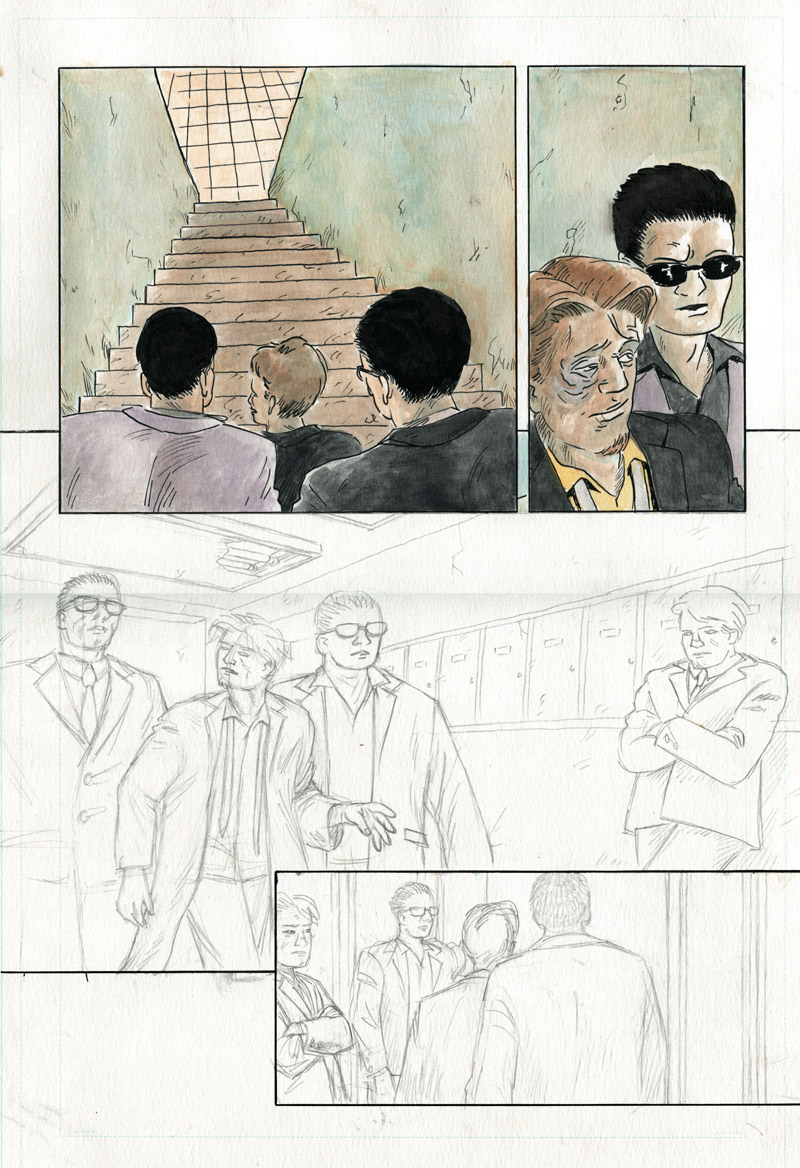 Sparrow & Crowe Pg. 15 - in progress