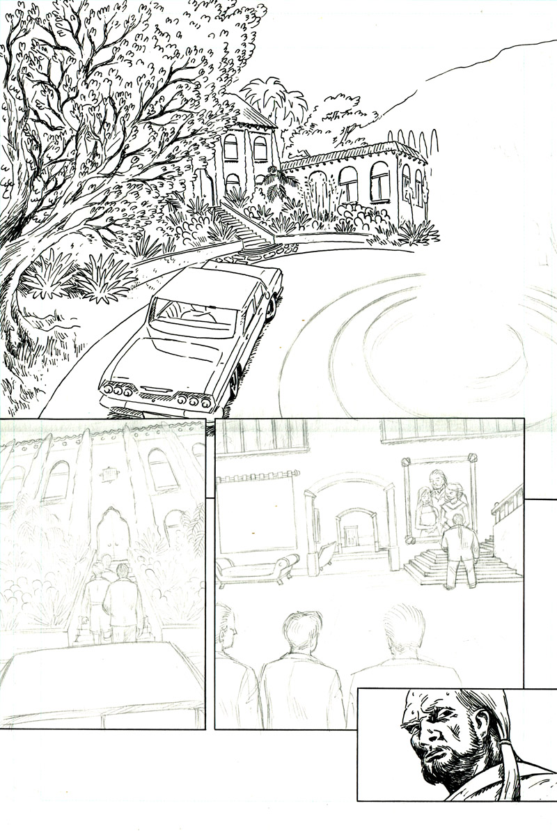 Sparrow & Crowe Pg. 17 - in progress