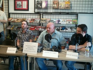 Independent Voices in Comics Panel